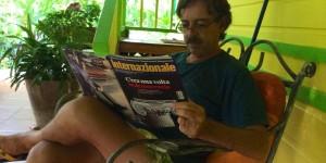 Una mia intervista inedita sulla Costa Rica.