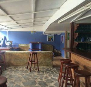dettaglio dello spazio bar