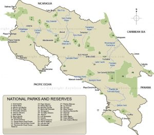 mappa parchi CR