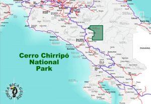 Chirripo-National-Park-Location